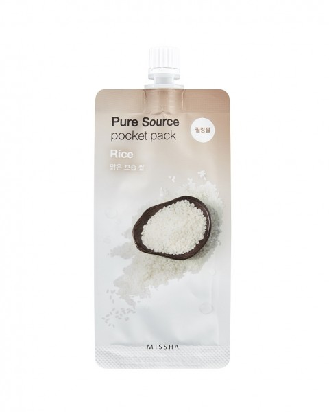 MISSHA Pure Source Pocket Pack (Rice)