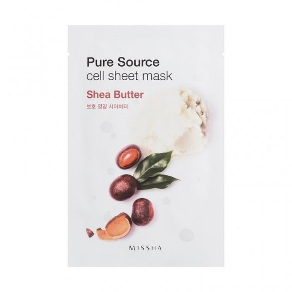MISSHA Pure Source Cell Sheet Mask (Shea Butter)