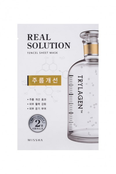 MISSHA Real Solution Tencel Sheet Mask (Wrinkle Caring) TRYLAGEN