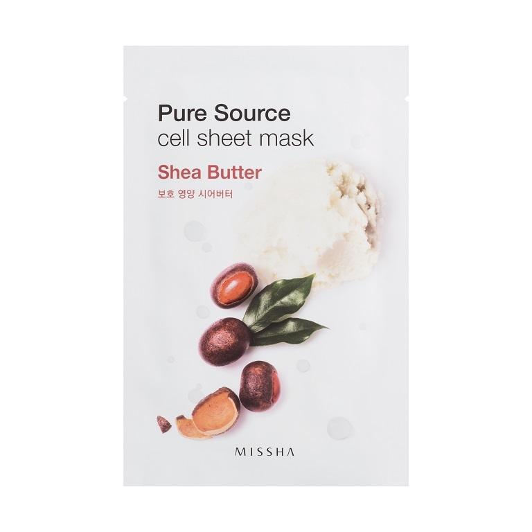 MISSHA_Pure_Source_Cell_Sheet_Mask_Shea_Butter1
