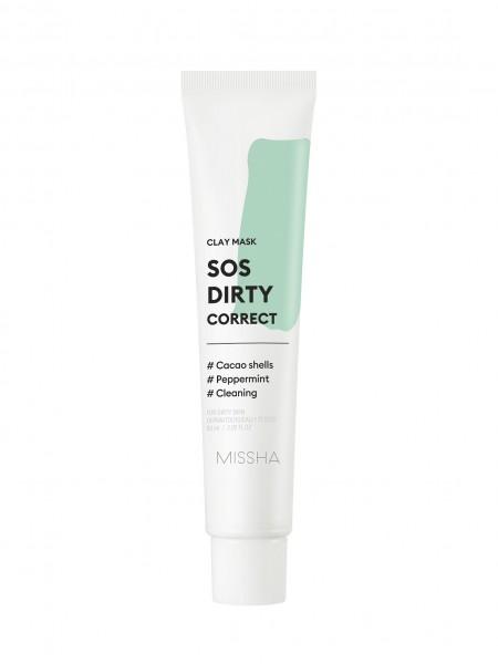 MISSHA SOS Dirty Correct Clay Mask