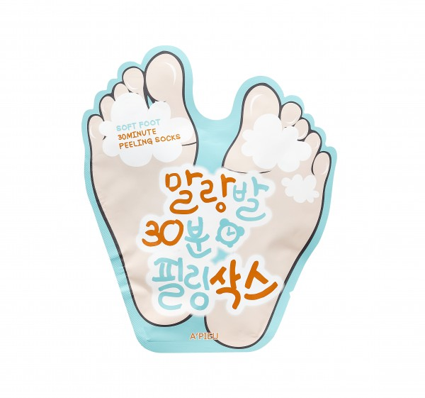 APIEU Soft Foot Peeling Socks (3pcs)