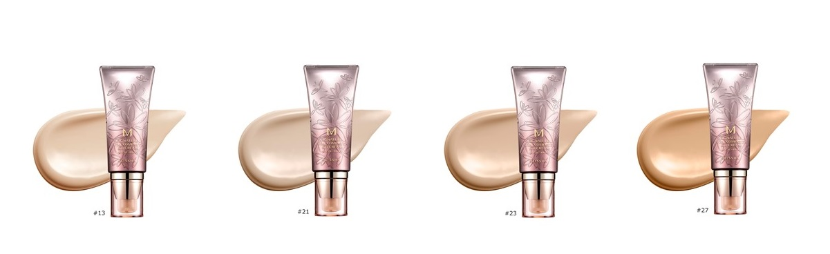 MISSHA-Signature-Real-Complete-BB-Cream-Colors