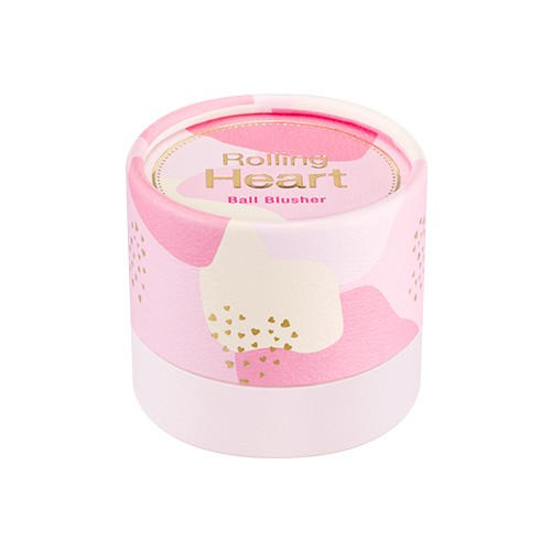 MISSHA Rolling Heart Ball Blusher (No.1/Pink Meringue)